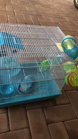 Hamster Cage - Ready to bring joy to your youngster