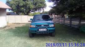 1998 Ford Courier 2.5td 4x4 s/c p/s with canopy