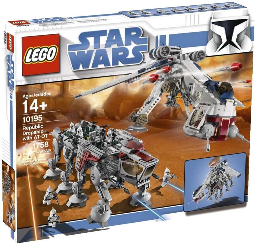 R30,000 Looking for a *sealed* Lego star wars AT-OT dropship