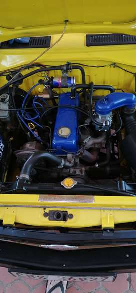 Nissan 1400, model 2005, bakkie is 14years old and has 95000km on
