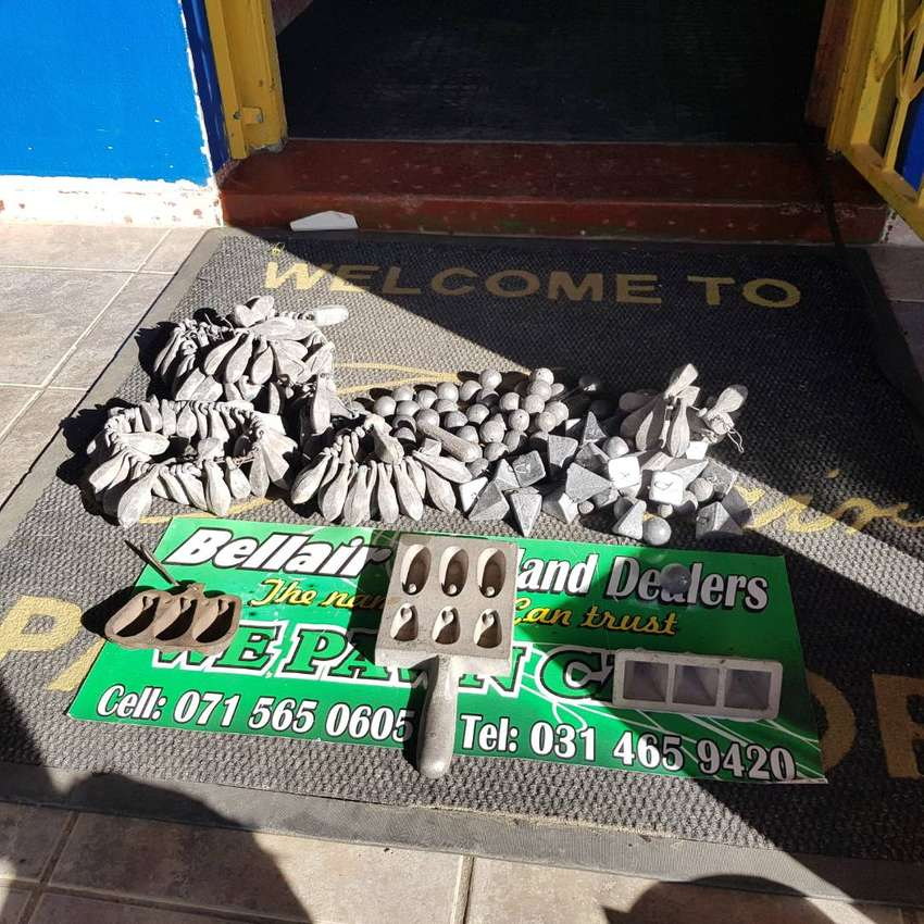 270pc Sinkers and Molds Combo