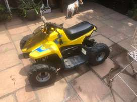 engine in working condition, bike can be fixed or used for parts