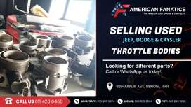 Selling Used Jeep, Dodge & Chrysler Throttle Bodies!