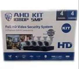 4 Channel 5MP AHD Latest Software CCTV System + HDMI + Phone Viewing +