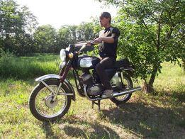 Мотоцикл ЯВА 350 тюнингованный, Продам.