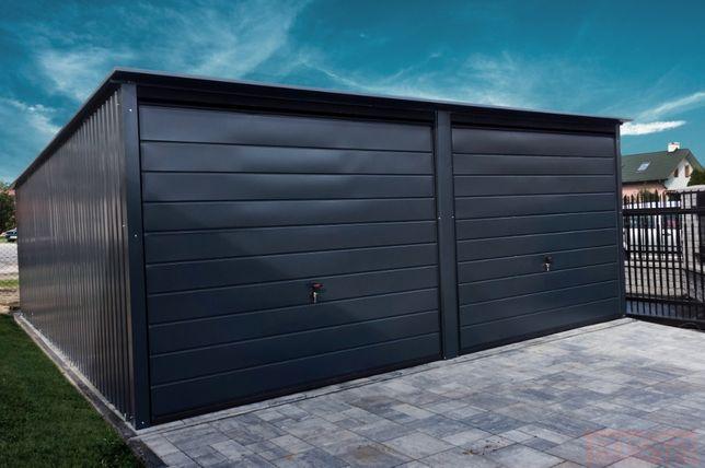 Garaż blaszany 6x6m Grafit |Garaże blaszane| Wzmocniony Raciechowice - image 1