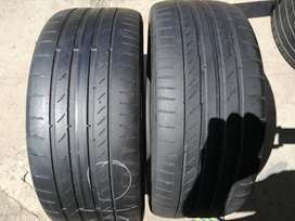 225/40/18 Conti runflat – x4 tyres avail