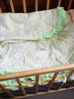защита для кроватки и детское постельное