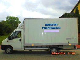 Przeprowadzki transport do 3,5t Starachowice i okolice cały kraj