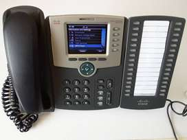 The Cisco  SPA525G2 VoIP and WiFi with  Expansion Module (Picture  1)
