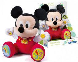 Interaktywny pluszak myszka Baby Mickey Miki Clementoni 12+ BAJAMIX