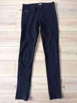 Spodnie/ getry czarne BERSHKA