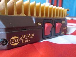 Усилитель ZETAGI B47 италия СИ БИ 27мГц для рации 50 Ватт SSB AM
