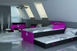 Łóżko piętrowe dla dziecka,dziecięce z dwoma materacami w zestawie.
