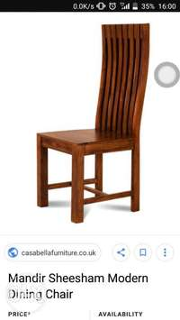 Dining chairs made to order 0