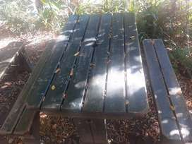 WOODEN BENCHES R500 EACH