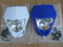 Lampa przednia przód Yamaha WR YZ 250 450 biała lub niebieska