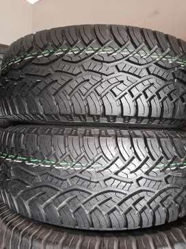 Continental Cross Contact A/T 265/65/R17 tyres