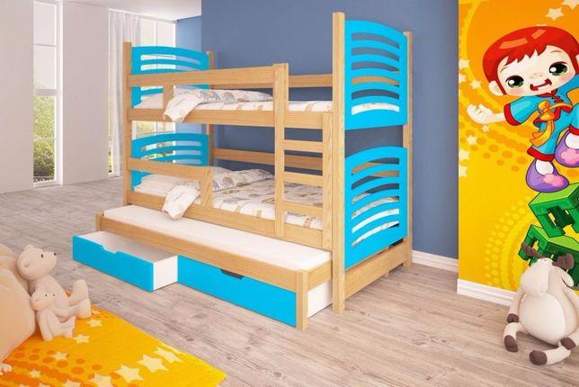 Meble dla dzieci. Łóżko piętrowe 3-osobowe! Dostawa GRATIS ! Gdańsk - image 4