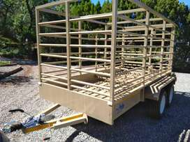 Cattle sheep pig trailer new any colour year 2021