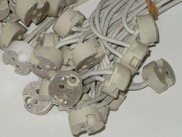 oprawka ceramiczna,gniazdo mr 16 gu 5,3 halogen, led 12 V
