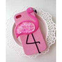 Case etui Iphone 6 6s różowe liquid wodne pelikan damskie luxury 3D