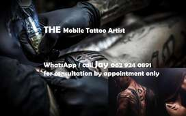 THE Mobile Tattoo Artist