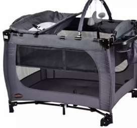 Baby camp cot