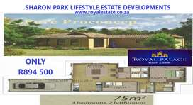 Brand new homes (Sharon Park Lifestyle)