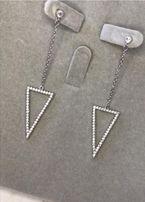 серёжки треугольник
