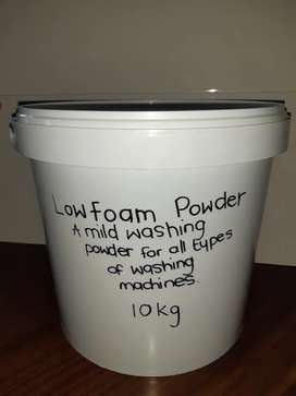 New Low Foam Powder 10Kg A mild washing powder all types of machines