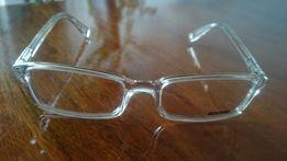moschino przezroczyste oprawki - okulary