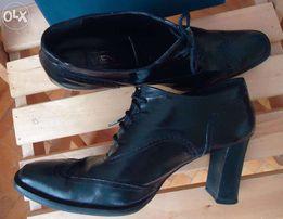 Туфли ботинки ботильоны, р. 40. VIVIEN LEE. Кожа