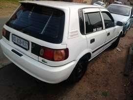 2002 toyota tazz 1.3 5 speed