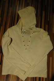 żółta bluzka z kapturem Cherokee