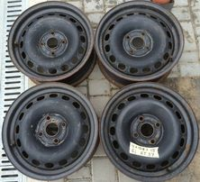 4 108 R 15 диски стальні Ауді Б3 Б4 металичиские диски Ауди