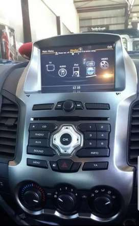 Ford ranger navigation, sub and amp