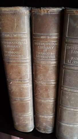 20 Volumes of The International Library of Famous Literature