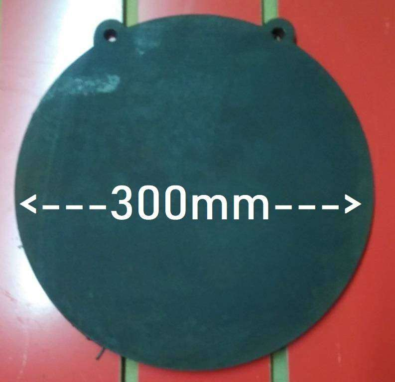 300MM Round Gong / Ghong Target NM500 10MM THICK 0