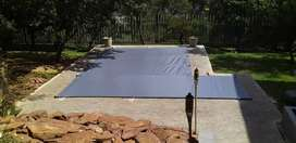 Pvc swimming pool cover s