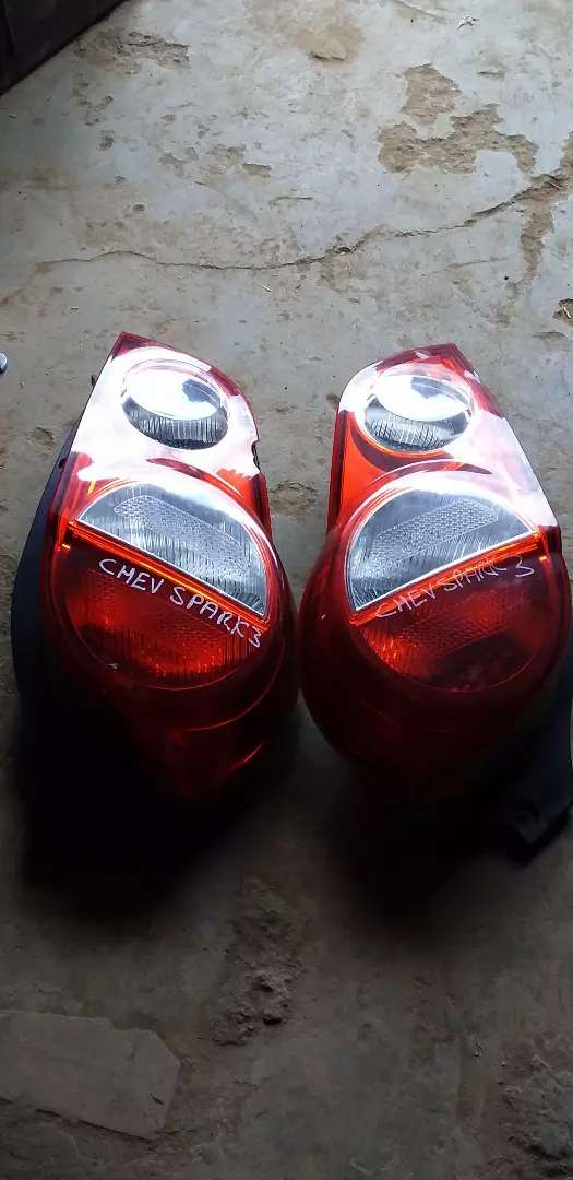 CHEVROLET SPARK 3 LEFT AND RIGHT TAIL LIGHT AVAILABLE 0