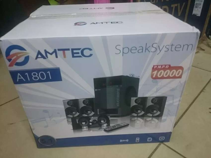 Brand new AMTEC 5.1 BLUETOOTH ENABLED SUBWOOFER 0