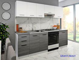 NOWE Meble Kuchenne MARTA 240cm Kuchnia 4 kolory Dostawa BLAT GRATIS