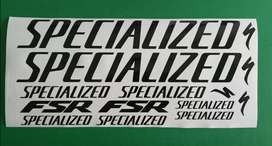 Specialized FSR stickers decals graphics kits