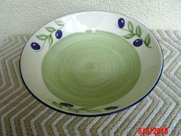 Duża ładna misa ceramiczna ręcznie malowana NOWA