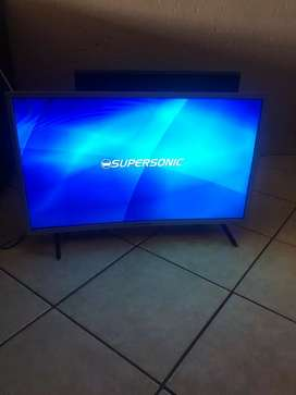 32 inch supersonic led curve tv