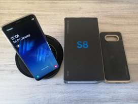 Samsung S8 Gold 64GB with Wireless Charger