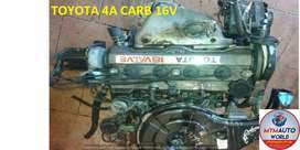 Imported used TOYOTA COROLLA 1.6L 16V CARB  Engines for sale at MYM
