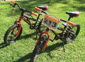 Kids Avalanche Bolt 16 Bicycles (x2)