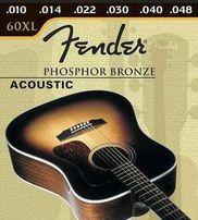 Струны FENDER 60 XL (0.10-0.48) PHOSPHOR BRONZE для гитары акустики